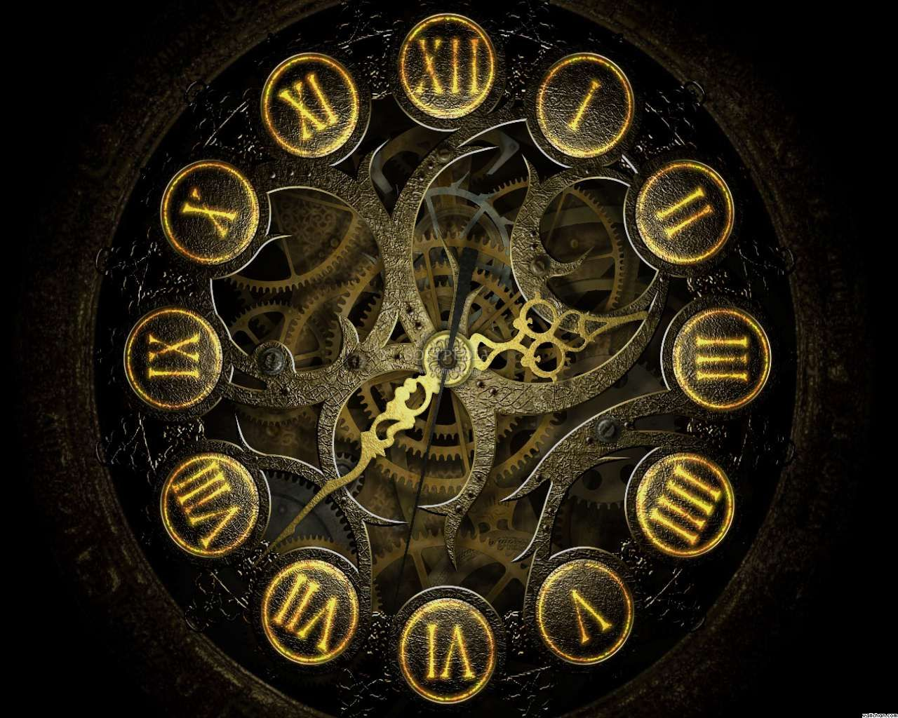 time_travel_clock_wallpaper