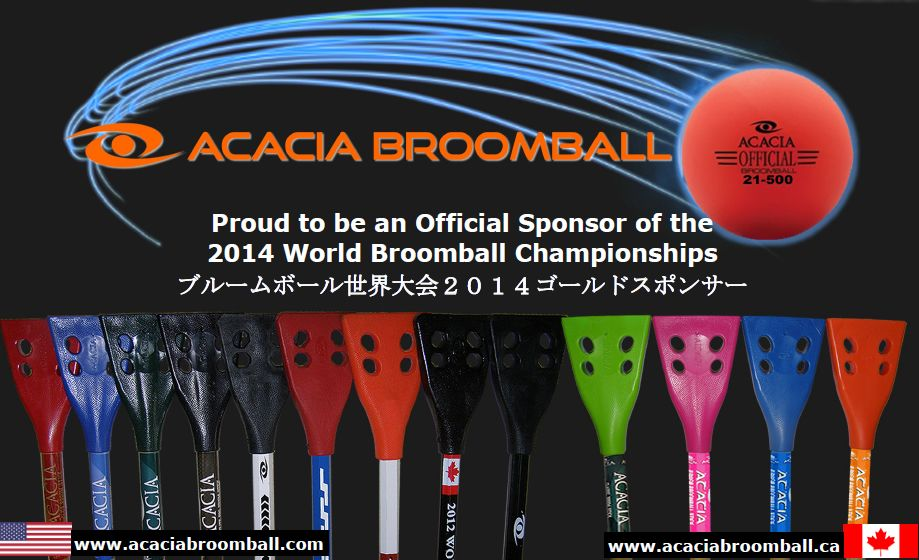 Sponsors and supporters of the 2014 IFBA World Broomball Championships